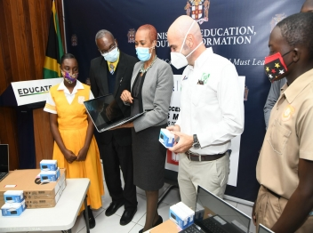 Carib Cement supports access to education and safety in schools