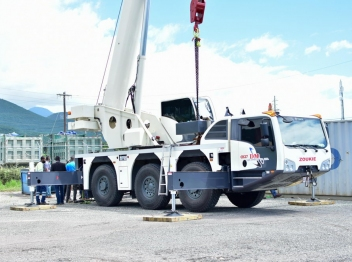 Caribbean Cement Company Limited donates Block Making Machine