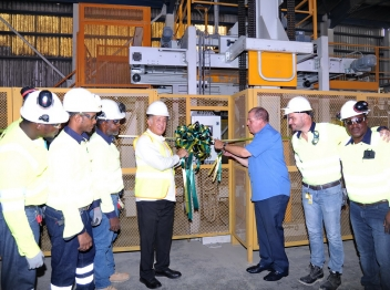 New Palletizers for Carib Cement