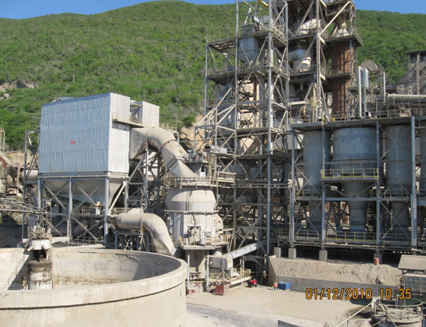 Carib Cement Mill